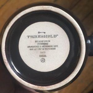 Threshold Kitchen - Mug with glaze design inside